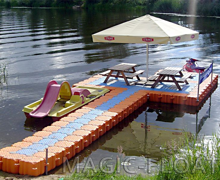 пирс для лодок